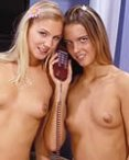 live phonesex chat with exquisite lesbo babes