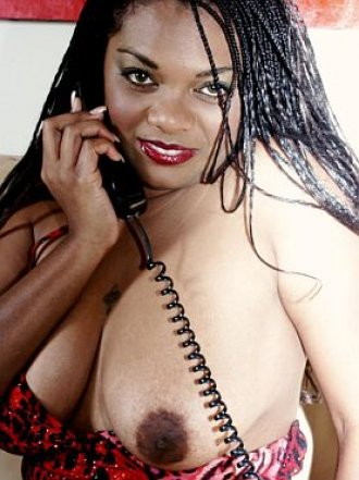 one to one talk with a ebony tease